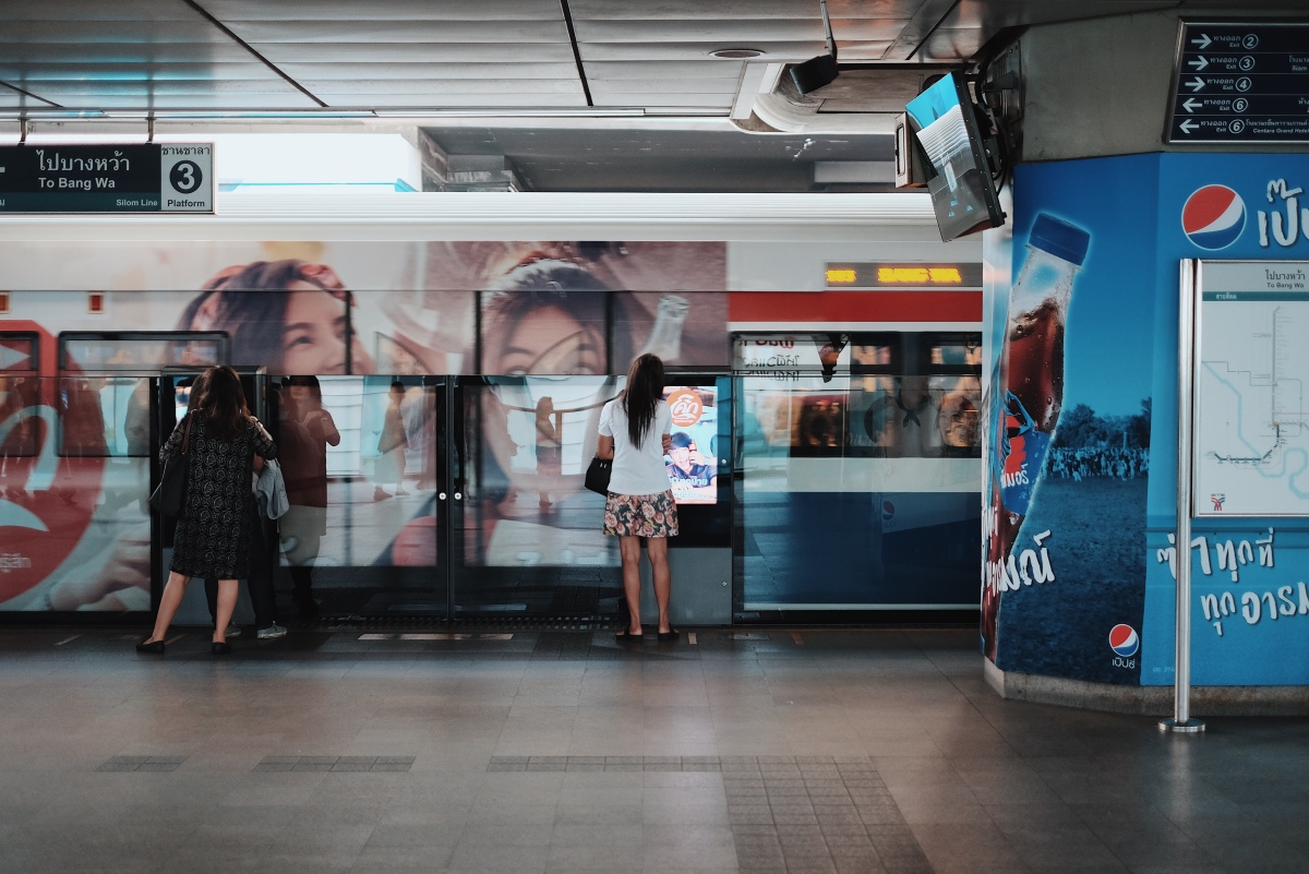 Exploring Around the Bangkok Skytrain